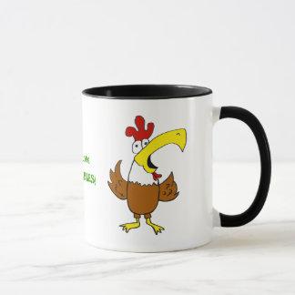 Pollo enrrollado de la taza