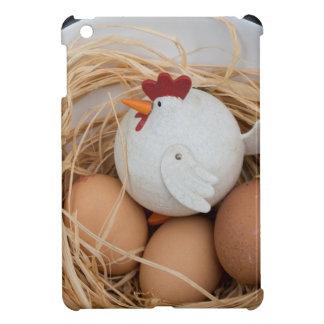Pollo y huevos
