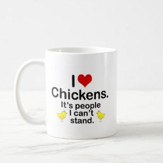 Pollos I (del corazón) Taza De Café