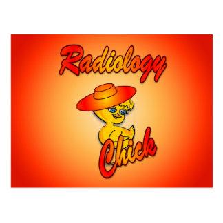 Polluelo #5 de la radiología tarjetas postales