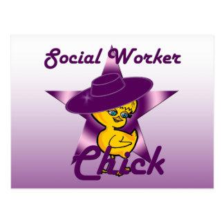 Polluelo #9 del trabajo social postal