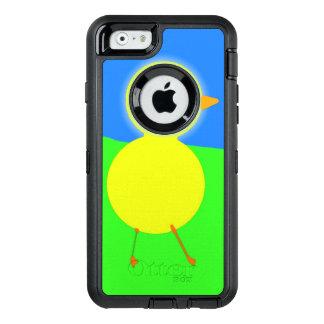 Polluelo aceitoso funda OtterBox defender para iPhone 6