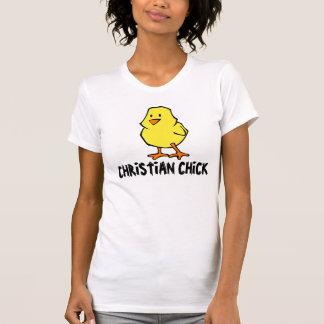 Polluelo cristiano, camisetas del testigo
