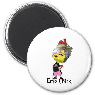 Polluelo de Emo, para las señoras Imán Redondo 5 Cm