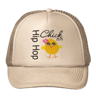 Polluelo de Hip Hop Gorros