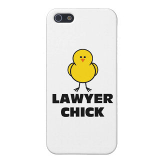Polluelo del abogado iPhone 5 protectores
