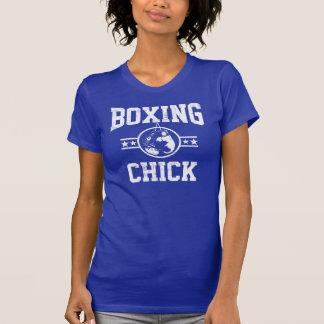 Polluelo del boxeo camisetas