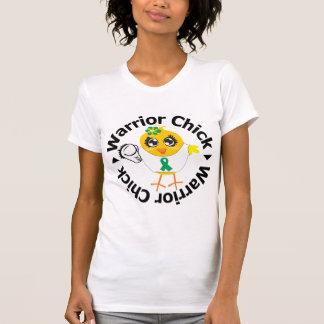 Polluelo del guerrero del cáncer de hígado camisetas
