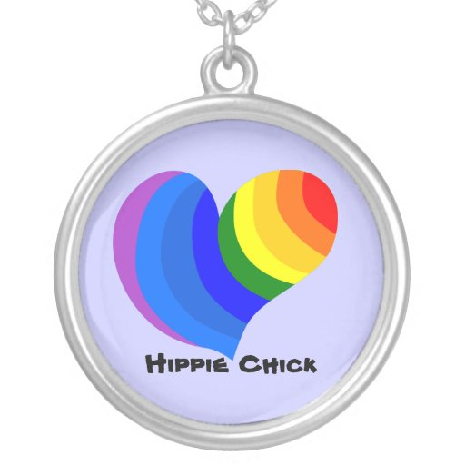Polluelo del Hippie Pendientes