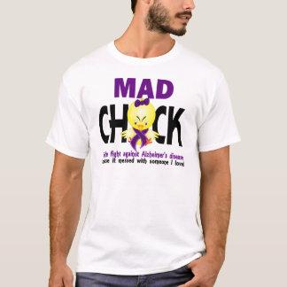Polluelo enojado en la enfermedad de Alzheimer de Camiseta