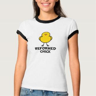 Polluelo reformado camiseta