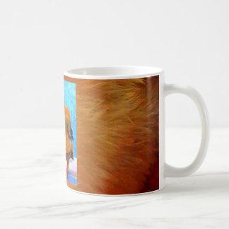 Polluelo-UNo-Dee-Luz de Pascua Tazas De Café