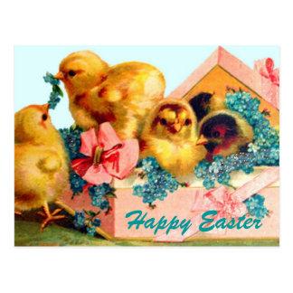 Polluelos de Pascua Postal