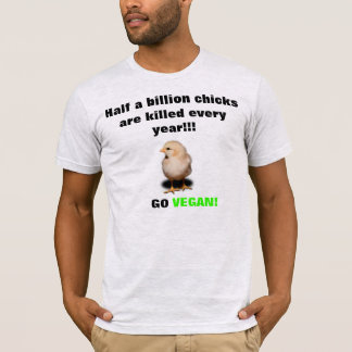 Polluelos que matan a la camiseta
