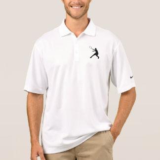 Polo apto del tenis de Nike Dri con el logotipo de