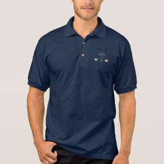 Polo Clubs de golf y pelota de golf con iniciales