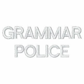 POLO DE LA POLICÍA DE LA GRAMÁTICA
