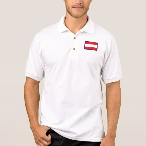 Polo del golf de la bandera de Austria