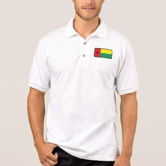 Polo del golf de la bandera de Guinea-Bissau