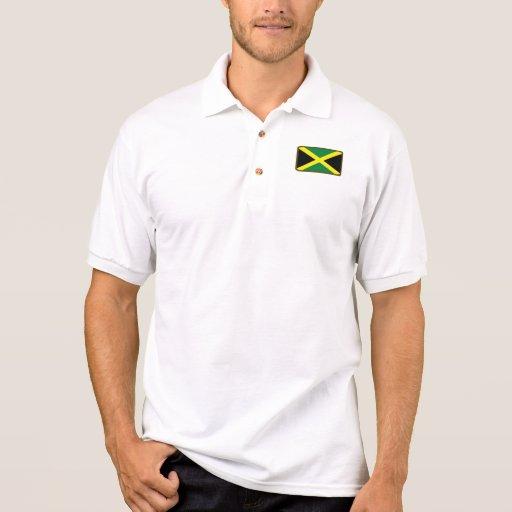 Polo del golf de la bandera de Jamaica