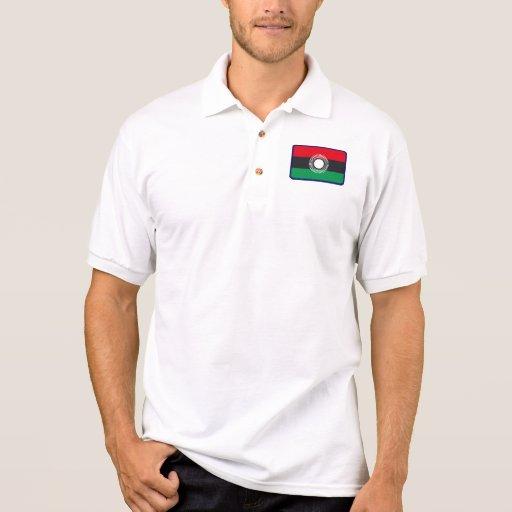 Polo del golf de la bandera de Malawi