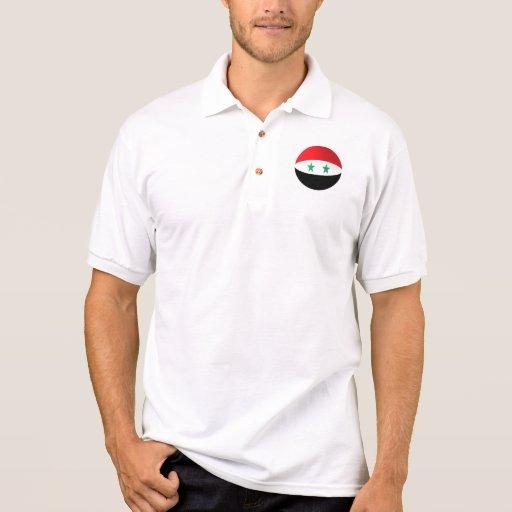 Polo del golf de la bandera de Siria
