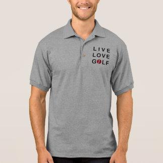 Polo El Golfing vivo del golf del golf del amor
