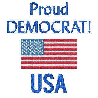 Polo orgulloso de Demócrata los E.E.U.U.