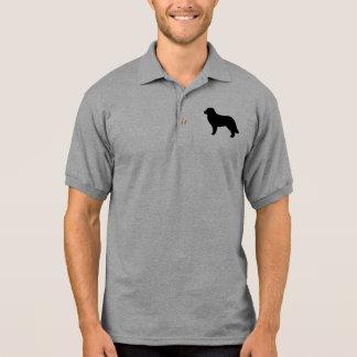 Polo Silueta del perro de Leonberger