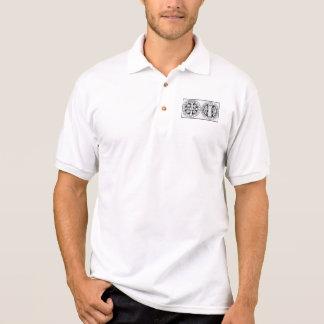 Polo T-shirt Benedict's medal / Medalla de San Ben