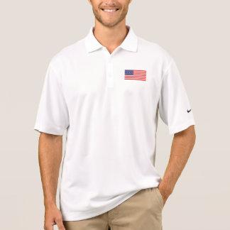 Polos aptos patrióticos del tenis y del golf de