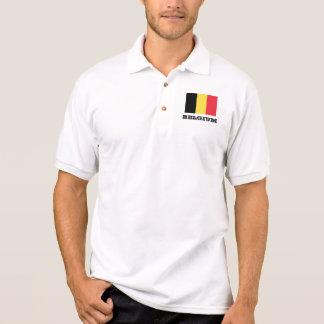 Polos de encargo de la bandera belga para los