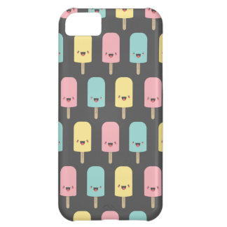 Polos de hielo felices de Kawaii de la diversión Carcasa iPhone 5C