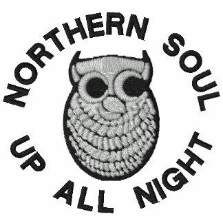 Polos septentrionales retros bordados del alma