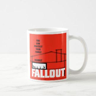 ¡Polvillo radiactivo! Taza de café