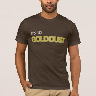 Polvo de oro Dubstep Camiseta