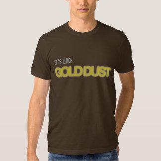 Polvo de oro Dubstep Camisetas