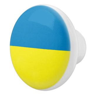 Pomo De Cerámica Bandera de Ucrania Ukrainean Ukraini