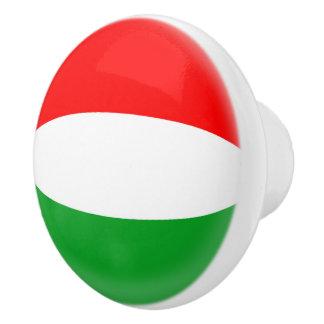Pomo De Cerámica Bandera del húngaro de Hungría