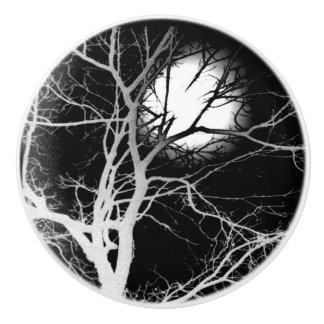 Pomo De Cerámica Claro de luna