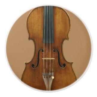 Pomo De Cerámica Detalle del violín de Stradivari