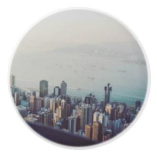 Pomo De Cerámica Hong Kong desde arriba