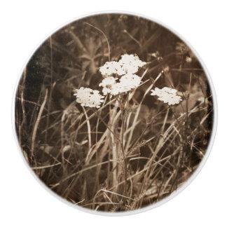 Pomo De Cerámica La montaña florece tirón de cerámica