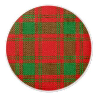 Pomo De Cerámica Tela escocesa de tartán escocesa de MacQuarrie del