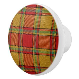 Pomo De Cerámica Tela escocesa de tartán escocesa de Scrymgeour del