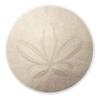Pomo De Cerámica Tirón de cerámica del dólar de arena