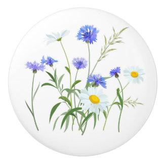 Pomo De Cerámica Wildflowers 2