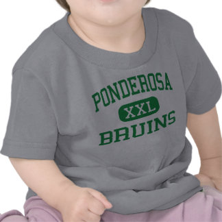 Ponderosa - Bruins - alto - primaveras de la tabla Camisetas