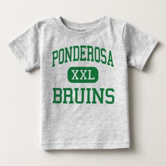 Ponderosa - Bruins - alto - primaveras de la tabla Camiseta