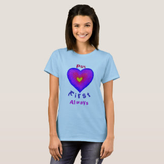 Ponga el amor primer camiseta
